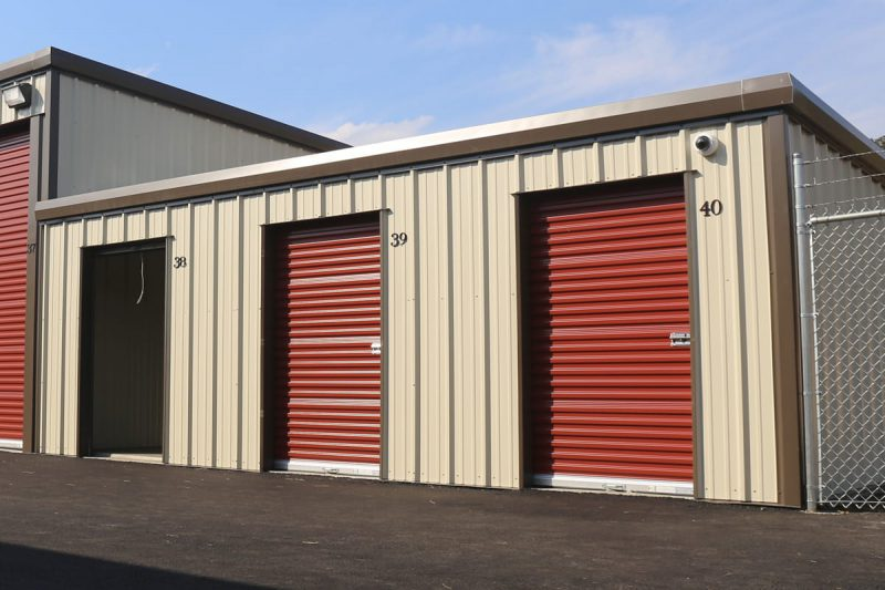 Small self storage units